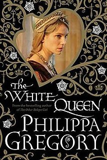 <i>The White Queen</i> (novel) novel by Philippa Gregory