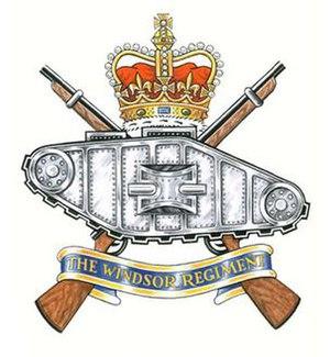The Windsor Regiment (RCAC) - Image: Windsor R Badge