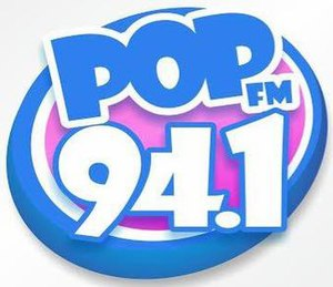 XHEMOS-FM - Image: XHEMOS Pop FM94.1 logo