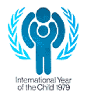 International Year of the Child - The Year of the Child logo was used in conjunction with observances worldwide.