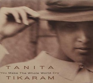 You Make the Whole World Cry 1992 single by Tanita Tikaram