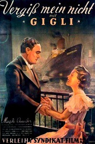 Forget Me Not (1936 film) - German poster
