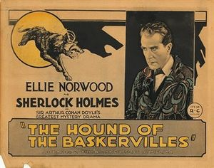 "The Hound of the Baskervilles (1921 film) - Image: ""The Hound of the Baskervilles"" (1921 film)"