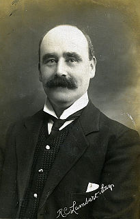 Richard Cornthwaite Lambert British politician
