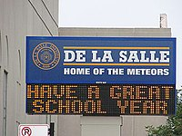20070906 De La Salle Institute Sign.JPG