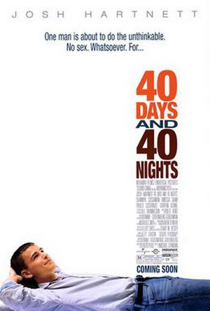 40 Days and 40 Nights - Theatrical release poster