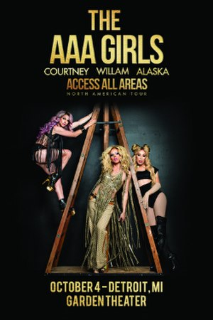 Access All Areas Tour - Image: AAA Girls 2017Tour Poster