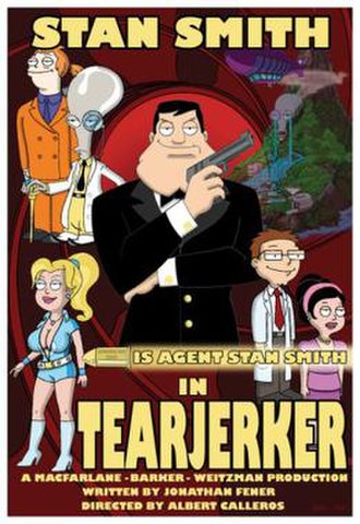 Tearjerker (American Dad!) - Promotional poster for this episode