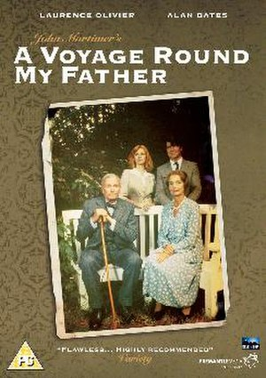 A Voyage Round My Father - DVD cover of 1982 production with Laurence Olivier and Alan Bates