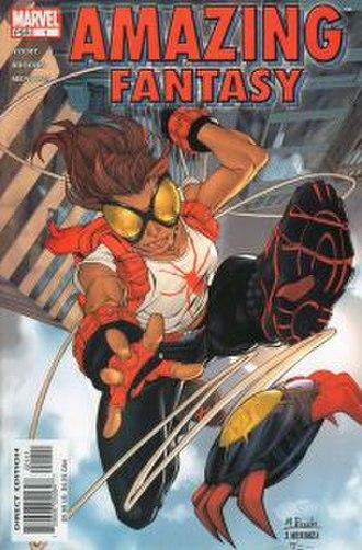 Amazing Fantasy - Image: Amazing Fantasy (2004) issue 1