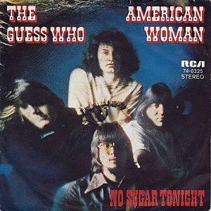 American Woman - Image: American Woman 45