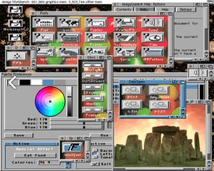 AmigaOS version history - Amiga Workbench 3