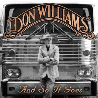 And So It Goes (album) - Image: And so it goes album don williams