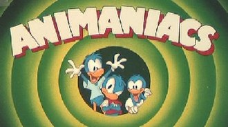 Animaniacs - The Warner siblings as ducks, before they were changed to their dog-like species. The idea for the Warners to be ducks was changed during preproduction of the series.