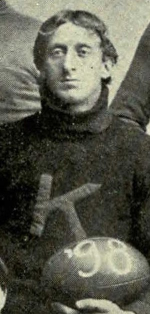 Arthur Mosse - Mosse during his senior year as Captain of the 1898 KU football team.