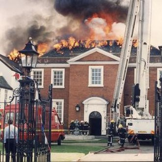 Norfolk Fire and Rescue Service - Norwich Assembly Rooms fire 1995