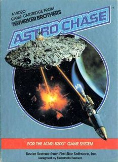 <i>Astro Chase</i> 1982 video game
