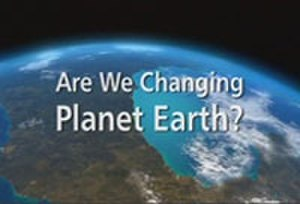 Are We Changing Planet Earth? - Programme title card