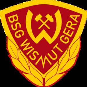 BSG Wismut Gera - Image: BSG Wismut Gera