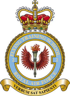 No. 2 Flying Training School RAF - No. 2 Flying Training School Badge