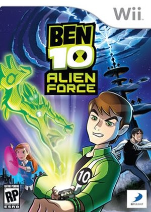 Ben 10: Alien Force (video game) - North American cover art
