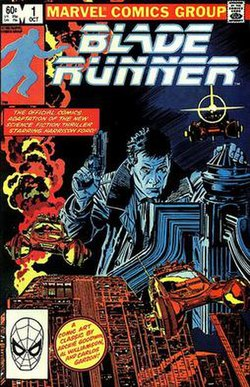 Image result for blade runner comics cover
