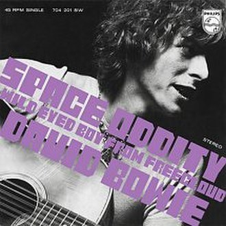 Space Oddity - Image: Bowie Space Oddity Single