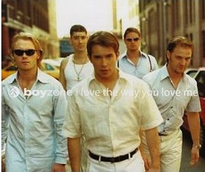 I Love the Way You Love Me - Image: Boyzone I Love The Way You Love Me
