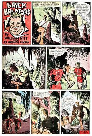 Brick Bradford - Clarence Gray's Brick Bradford (June 21, 1942)