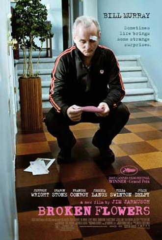 Broken Flowers - Theatrical release poster