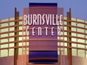 Burnsville Center - Front view of the mall.