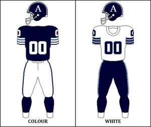 1973 Toronto Argonauts season - Image: CFL TOR Jersey 1973