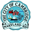 Official seal of City of Cambridge, Maryland