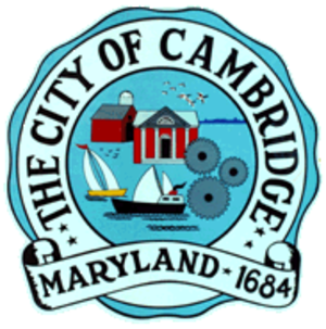 Cambridge, Maryland - Image: Cambridge seal