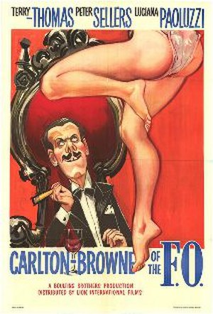 Carlton-Browne of the F.O. - UK cinema poster