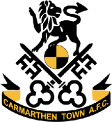 Image result for CARMARTHEN TOWN FC LOGO