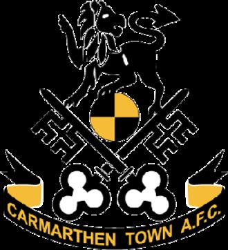 Carmarthen Town A.F.C. - Image: Carmarthen Town FC