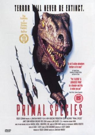 Carnosaur 3: Primal Species - UK DVD cover
