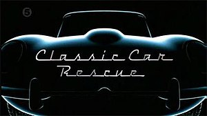 Classic Car Rescue - Title card featuring the 1969 Jaguar E-Type Series 2