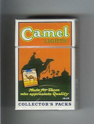 Camel (cigarette) - Camel Collector's Pack of 1918