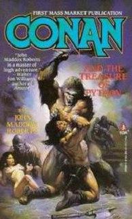<i>Conan and the Treasure of Python</i> book by John Maddox Roberts