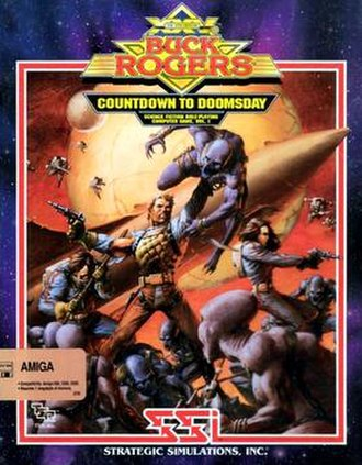 Buck Rogers: Countdown to Doomsday - Image: Countdown to doomsday cover