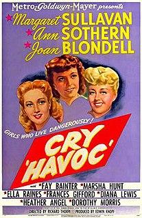 <i>Cry Havoc</i> (film) 1943 film by Richard Thorpe