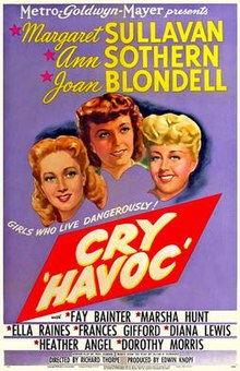 Cry 'Havoc' cinema poster.jpg