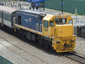 Glossary of New Zealand railway terms - Auckland's MAXX Blue livery