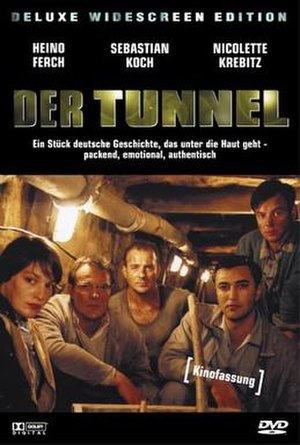 The Tunnel (2001 film) - Der Tunnel DVD cover