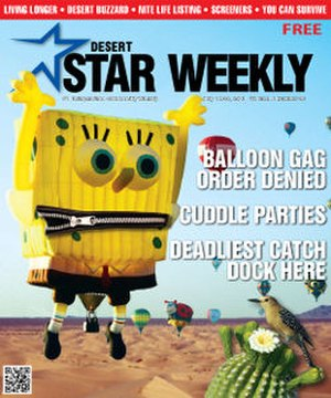 Desert Star Weekly - Image: Desert Star Weekly (front page)