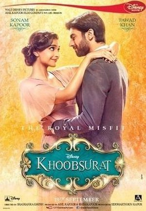Khoobsurat (2014 film) - Theatrical release poster