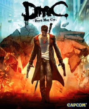 DmC: Devil May Cry - Image: Dm C box art