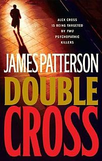 <i>Double Cross</i> (novel) book by James Patterson